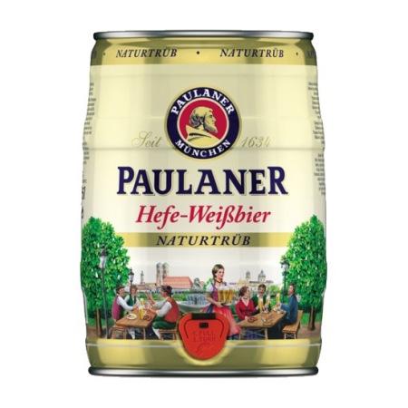Paulaner weisse mini keg 5L