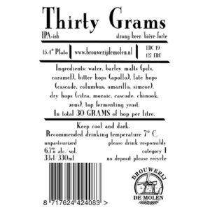 De Molen Thirty Grams