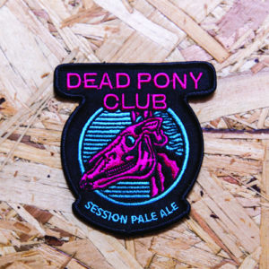 DEAD PONY CLUB EMBROIDERED PATCH