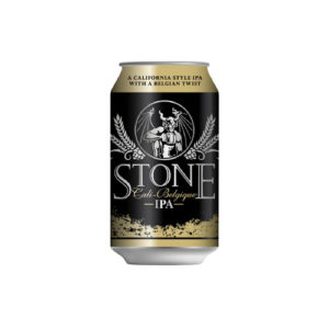 Stone Cali-Belgique IPA can