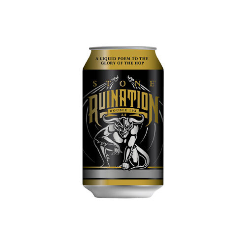 Stone Ruination Double IPA can