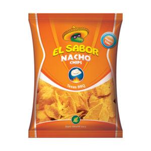 el sabor nacho chips texas bbq