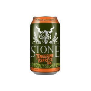 Stone Tangerine Express IPA can