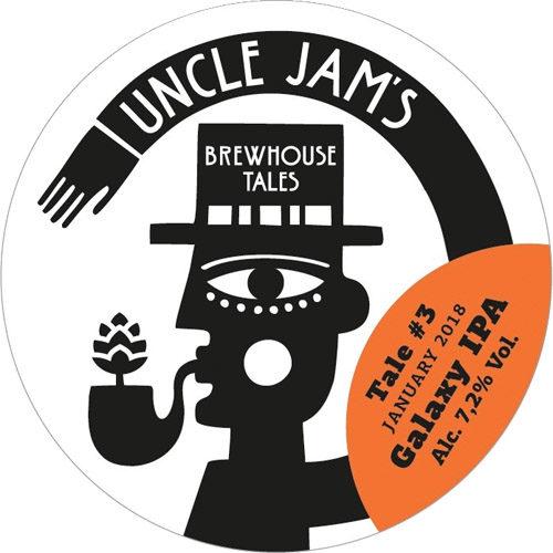 Strange Brew Uncle Jams Tale 3 Galaxy IPA draft