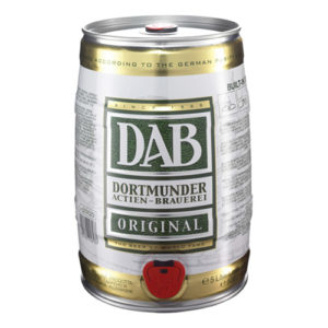 DAB Original mini keg