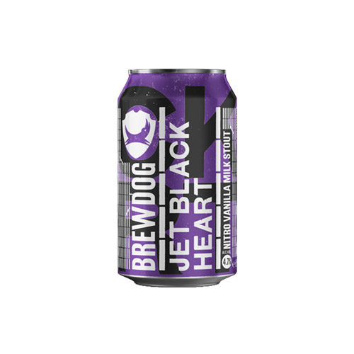 BrewDog Jet Black Heart Nitro can