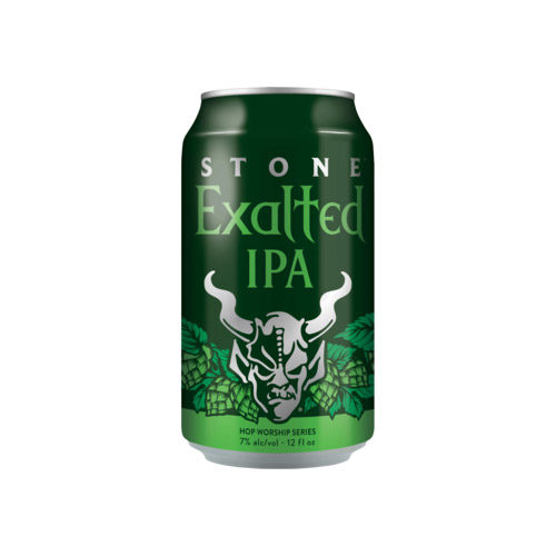 Stone Exalted IPA can